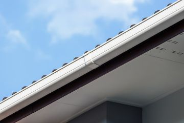 Gutter installation by Energy Efficient Replacements LLC